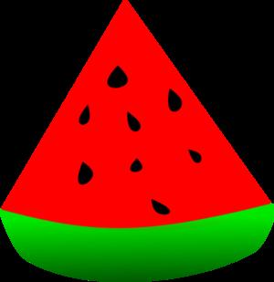 Sandia watermelon vector clip art clipart