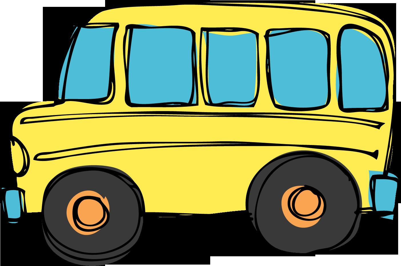 School bus clipart 4
