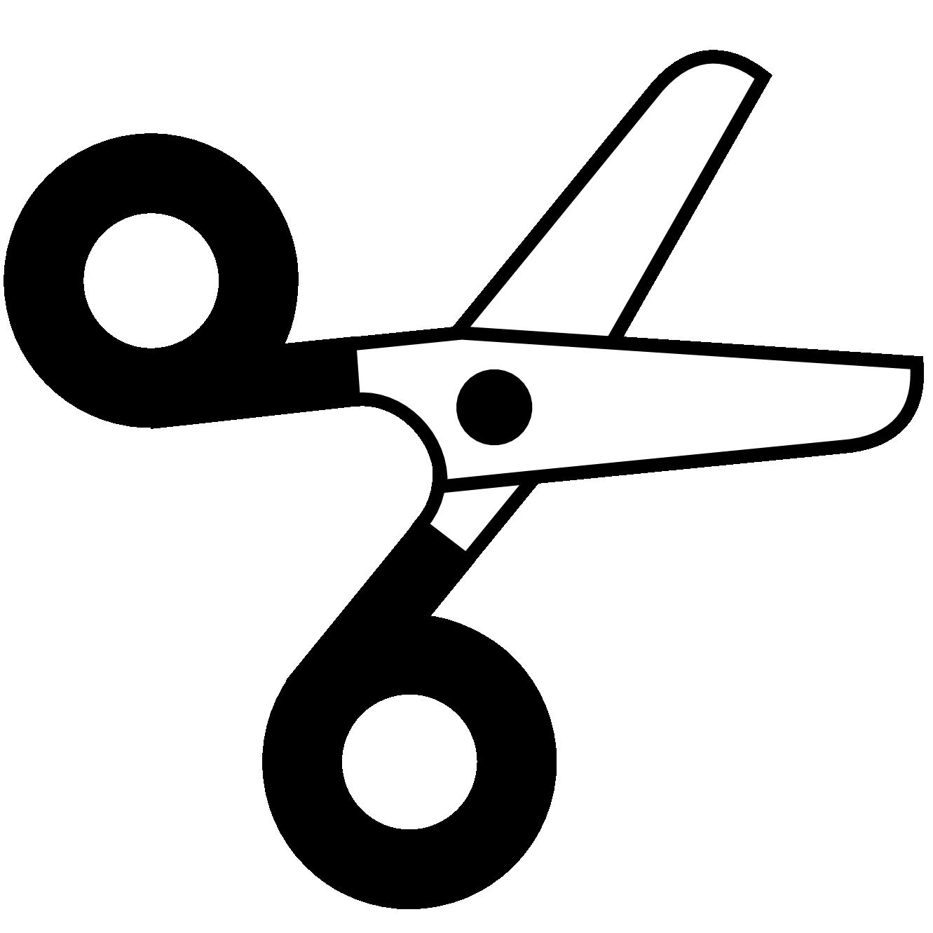 Scissors vector clipart