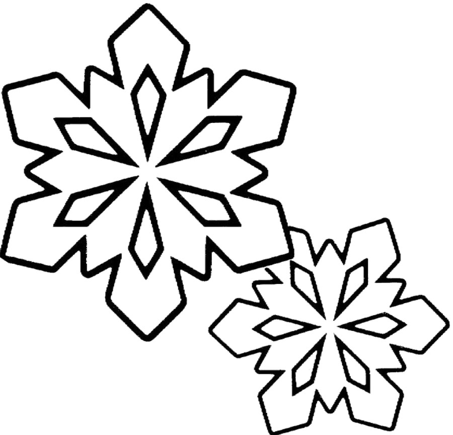 Snowman  black and white snowflake clipart black and white free clip art images