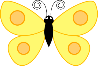 Spotted butterfly clip art download