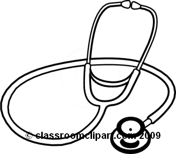Stethoscope 4 clipart