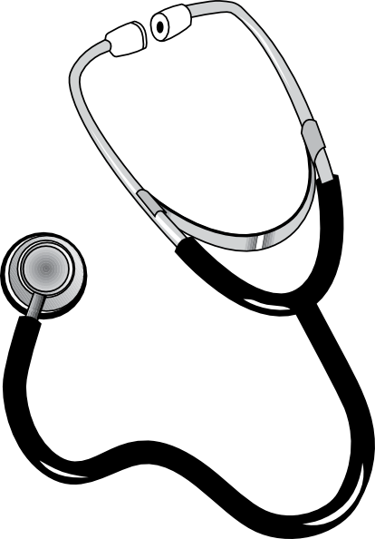 Stethoscope clipart free images 2
