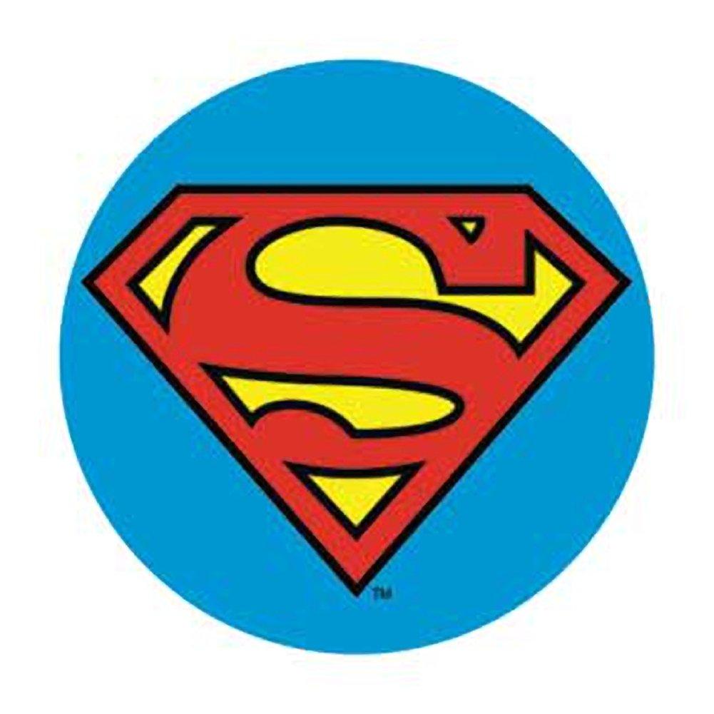 Superman logo button