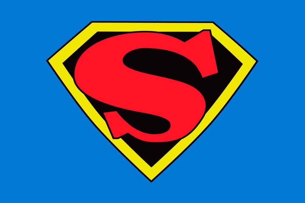 Superman logo evolution history of the superhero symbol