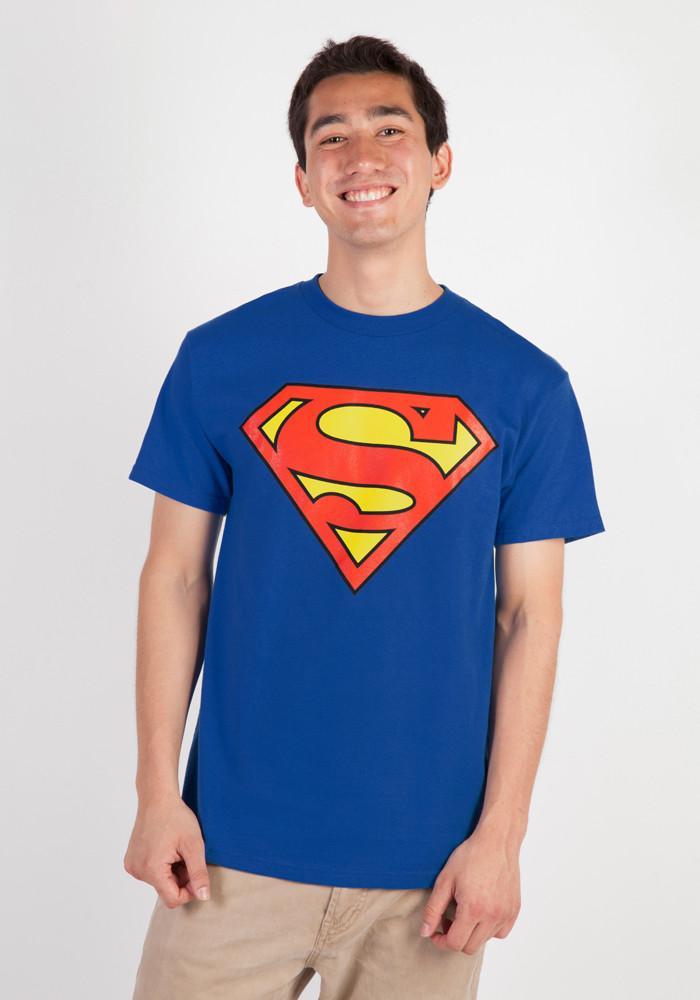 Superman logo shirt newburyics