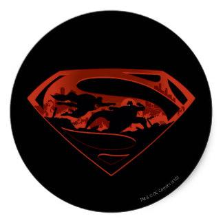 Superman logo stickers zazzle
