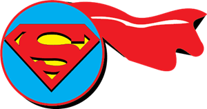 Superman logo vector free download 2