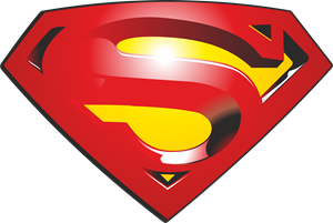 Superman logo vector free download