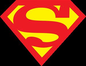 Superman logo vectors free download