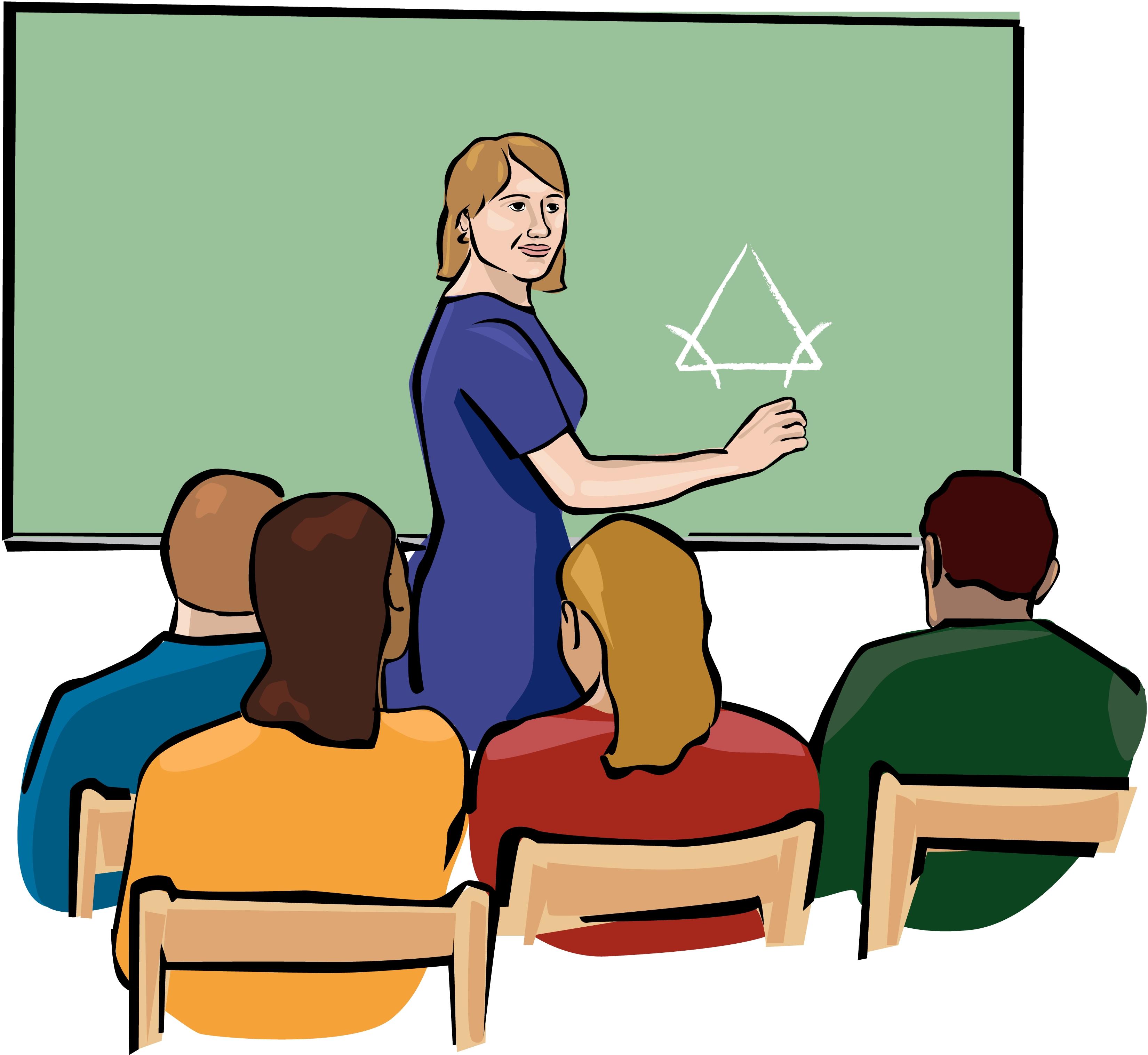 Teacher teaching clipart clipartbarn
