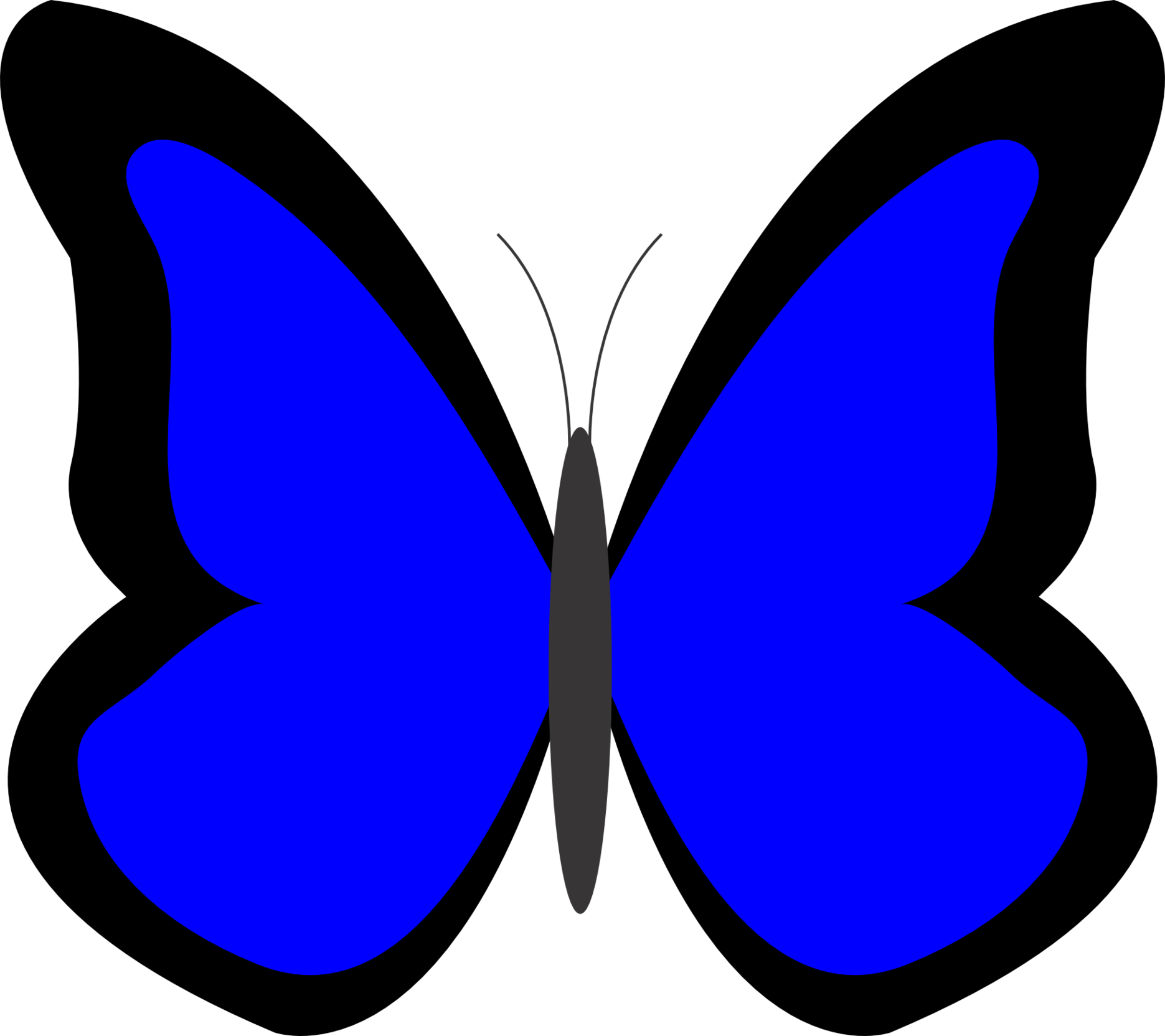 Top butterfly clipart free image 3