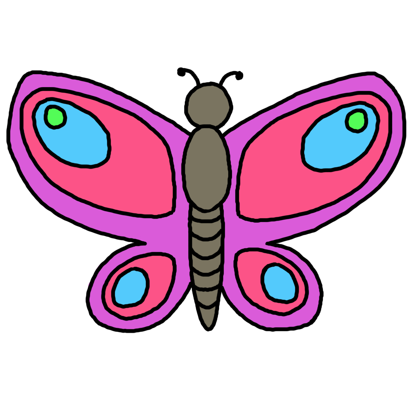 Top butterfly clipart free image