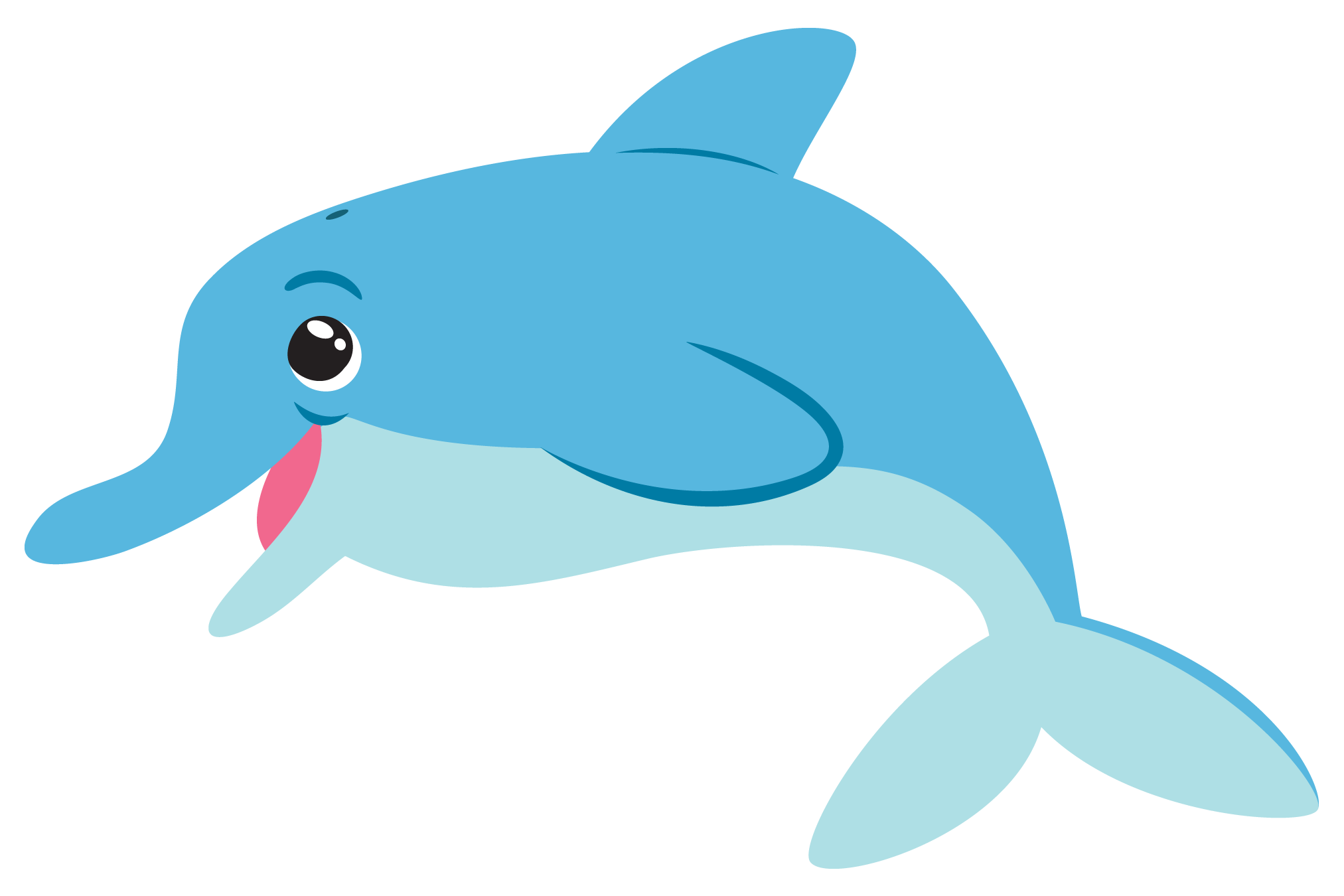 Top dolphin clip art free clipart image