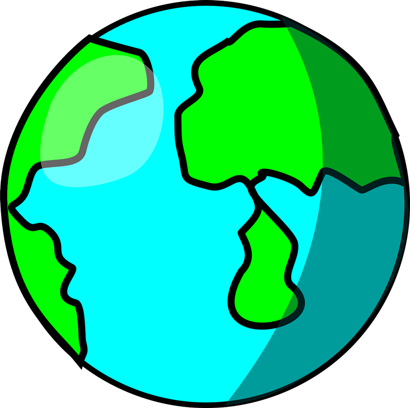 Top globe clip art free clipart image