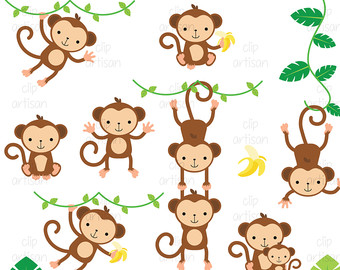 Top monkey clipart free image 3