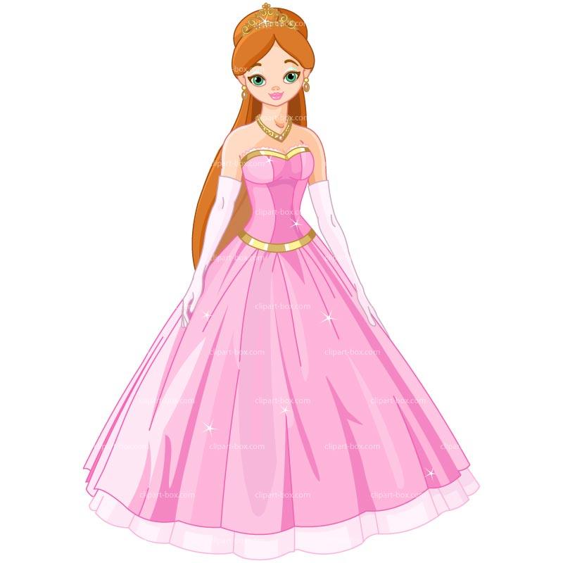 Top princesses clip art free clipart image 4