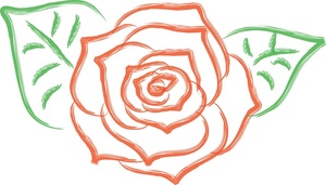 Top roses clip art free clipart image 3