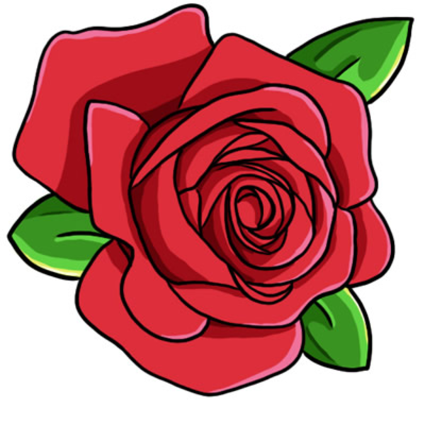 Top roses clip art free clipart image 4