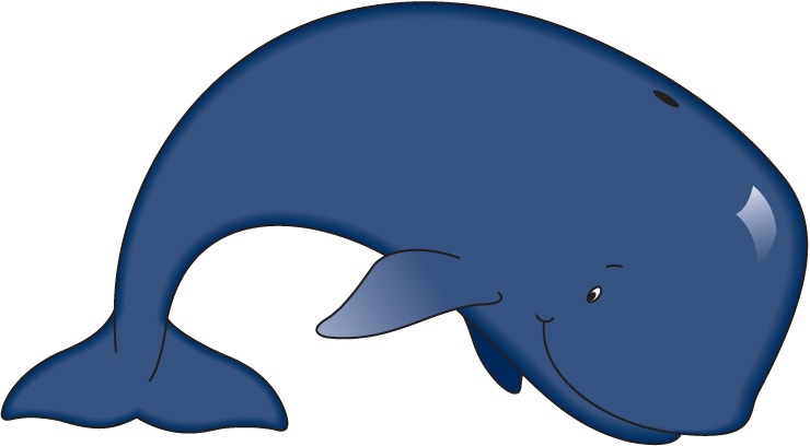 Top whale clip art free clipart image 3