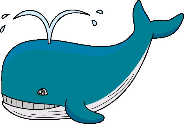 Top whale clip art free clipart image