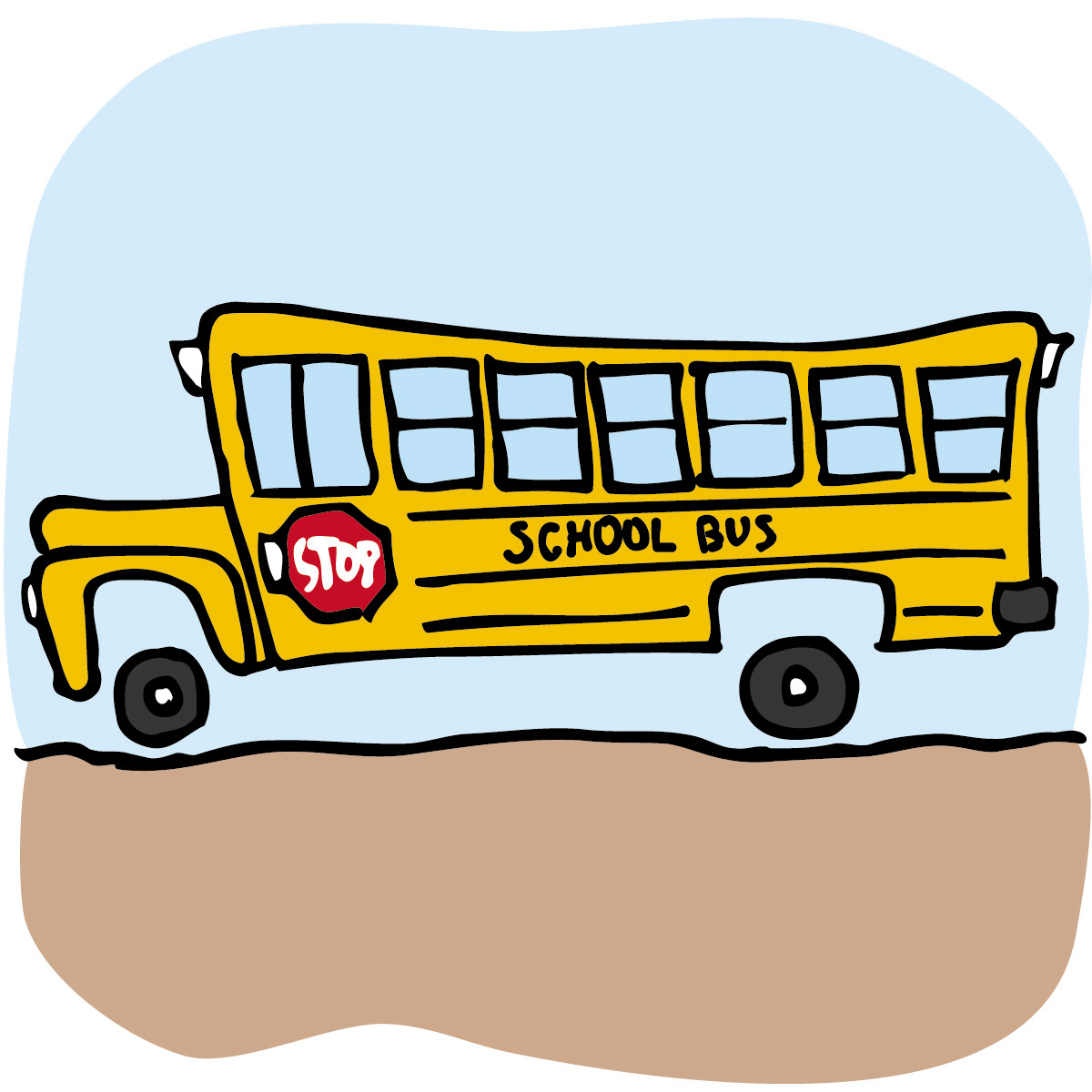 Tour bus clipart free images
