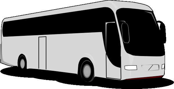 Travel bus clip art at vector clip art