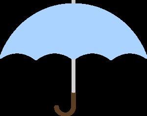 Turquoise umbrella clip art at vector clip art