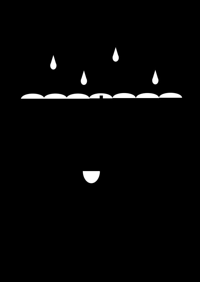 Umbrella black and white umbrella clipart clipa