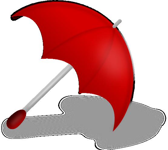 Umbrella clip art outline free clipart images