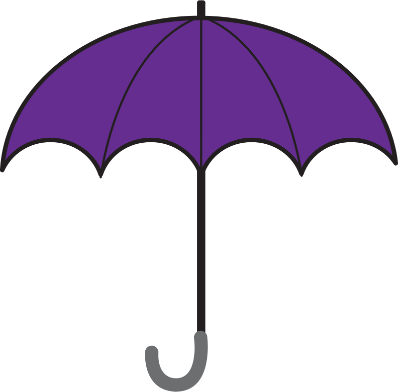 Umbrella free to use clipart