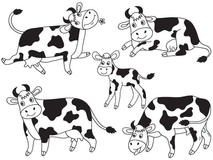 Unique cow clipart ideas on zoo cute 3