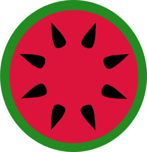 Watermelon clip art at vector clip art