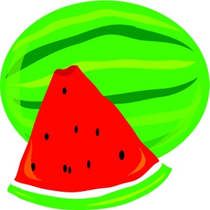 Watermelon clip art border free clipart images 4