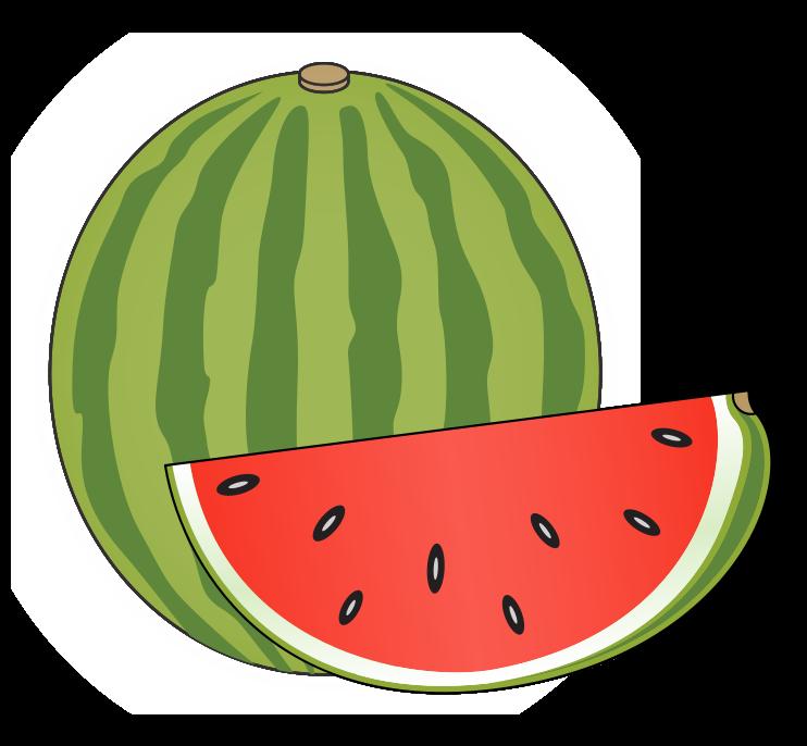 Watermelon clip art border free clipart images