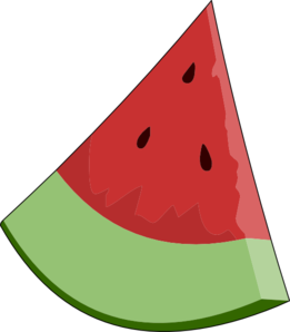 Watermelon clipart image 1