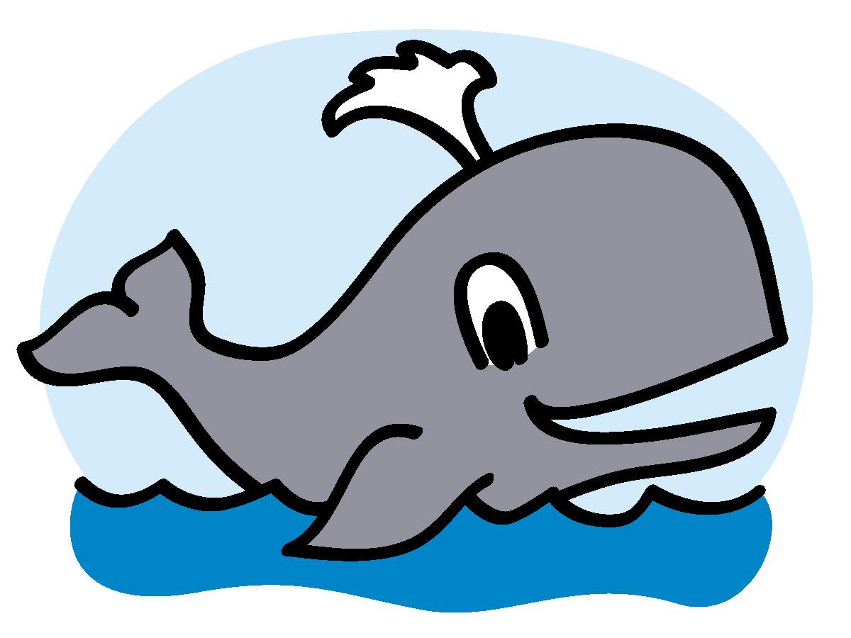 Whale clip art cartoon free clipart images