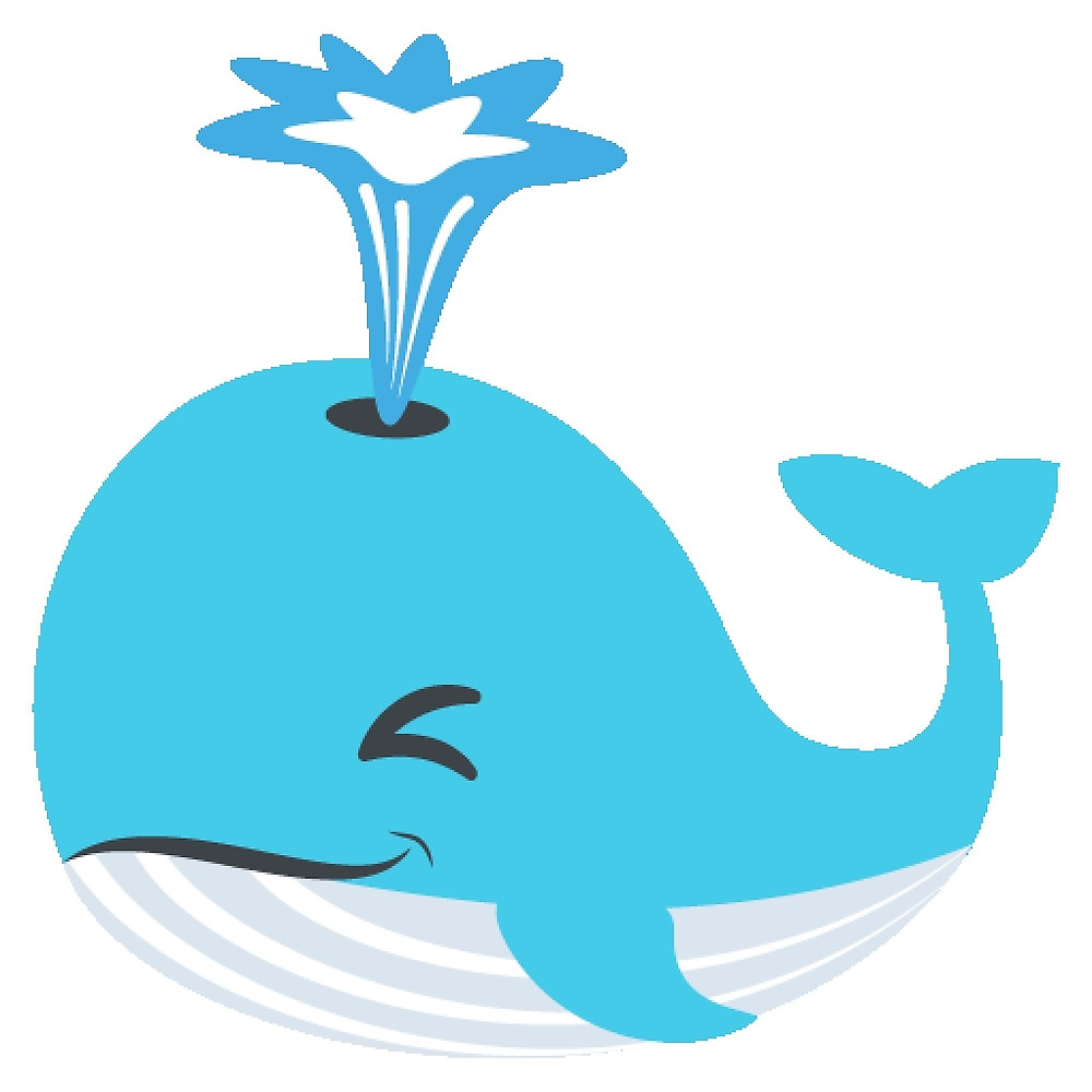 Whale clipart emoji pencil and in color whale