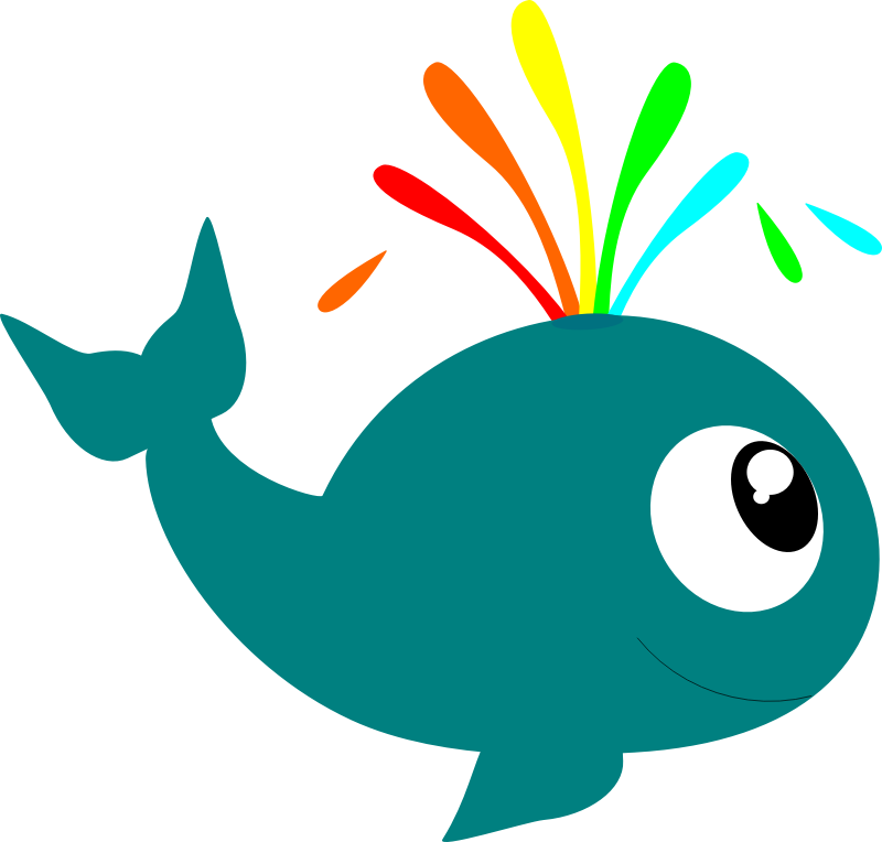 Whale free to use clip art clipart