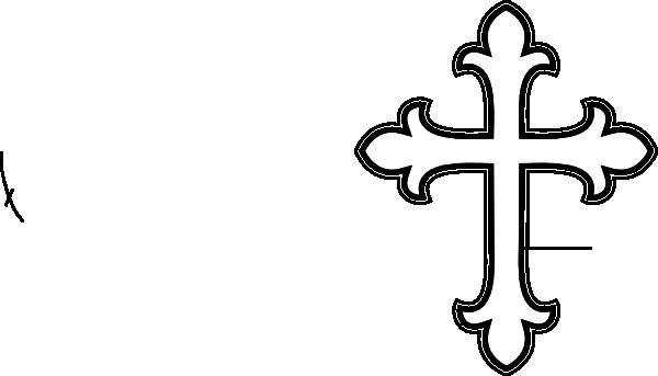White cross clip art at vector clip art