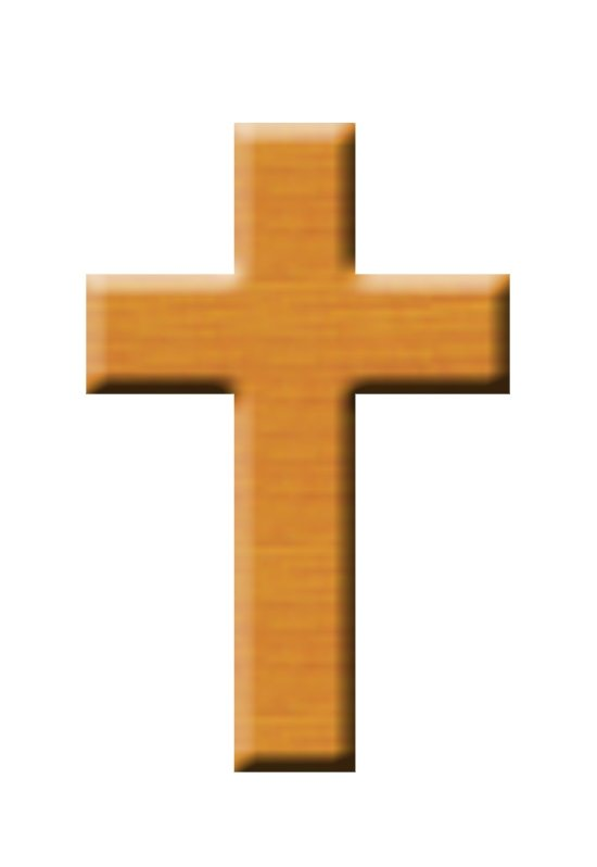 Wooden cross clip art free clipart images 3