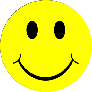Yellow happy face clip art at vector clip art