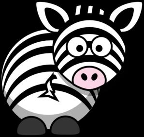 Zebra clip art at vector clip art free 2