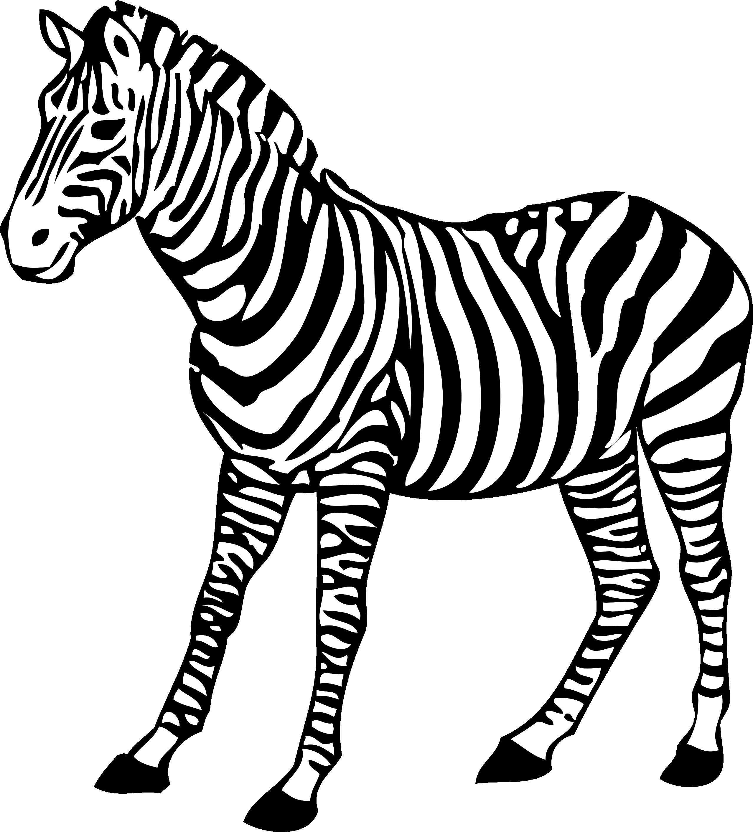 Zebra clip art free clipart images