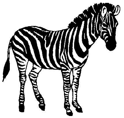 Zebra clip art zebra clipart photo niceclipart