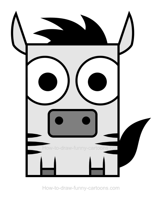 Zebra clipart 3