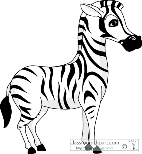 Zebra clipart 4 clipartpost