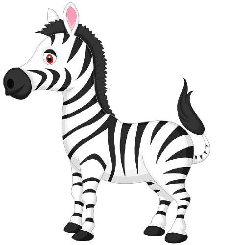 Zebra clipart black and white free images 3 clipartpost