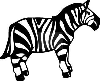 Zebra clipart zebra
