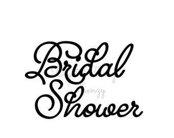 Bridal shower clipart clip art